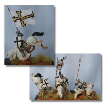 Valdemar-Miniatures: VM021 Falling knights 1:72
