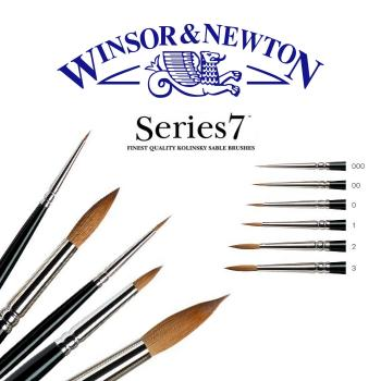 Winsor & Newton Pinsel Serie 7 lang, Größe 2