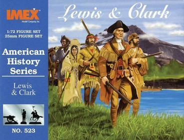 IMEX 523 Lewis & Clark Entdecker Set 1:72