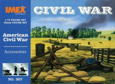 IMEX 507 Sezessionskrieg Zubehör 1/72