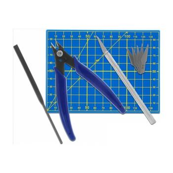 Donau MS09 - Werkzeugset für Plastikmodellbau