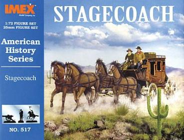 IMEX 513 Chuck Wagon and Prairie Schooner Set Modellbau 1//72 V-95